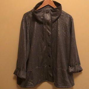 Ruby Rd Sweatshirt Jacket